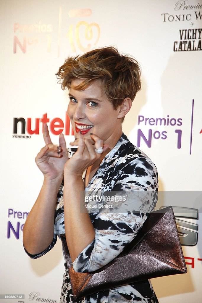 Tania Llasera poses at the photocall of 'Cadena 100 Number 1 Awards 2013' on May 27, 2013 in Barcelona, Spain.