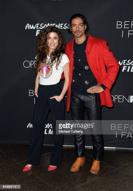 Tania Raymonde and Jan Uddin attend the premiere of Open Road Films' 'Before I Fall' at Directors Guild Of America on March 1 2017 in Los Angeles...