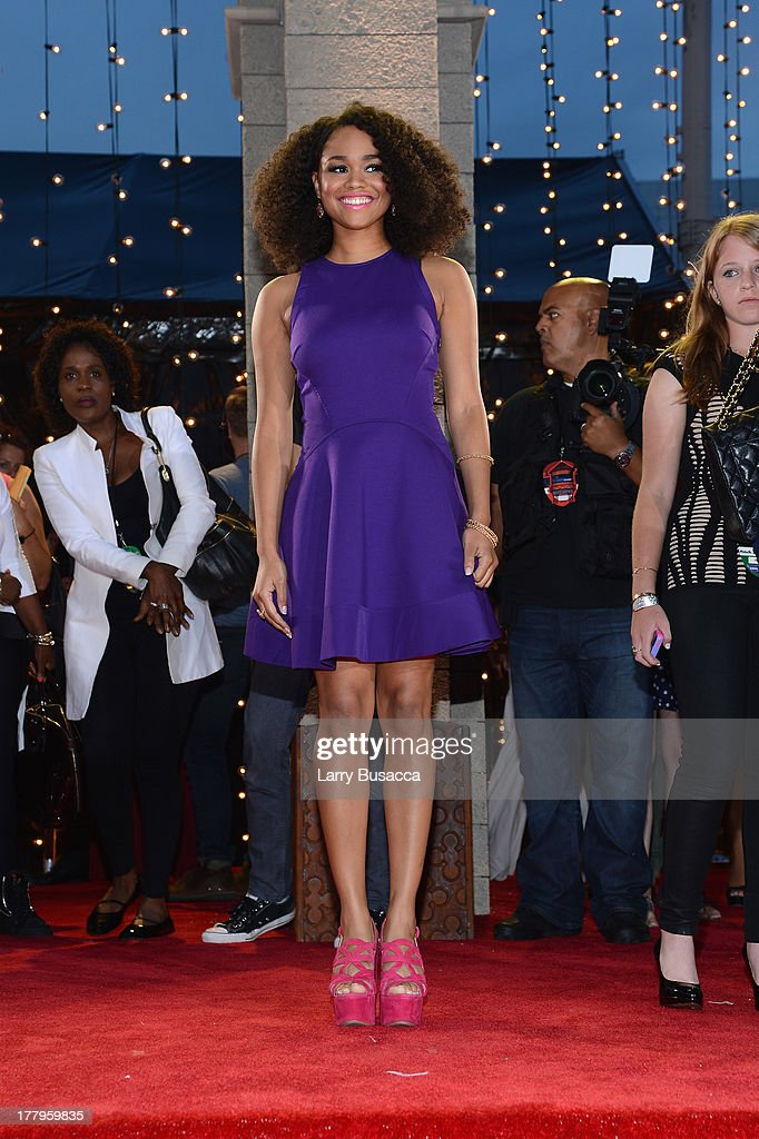 Tanisha Long attends the 2013 MTV Video Music Awards at the Barclays Center on August 25, 2013 in the Brooklyn borough of New York City.