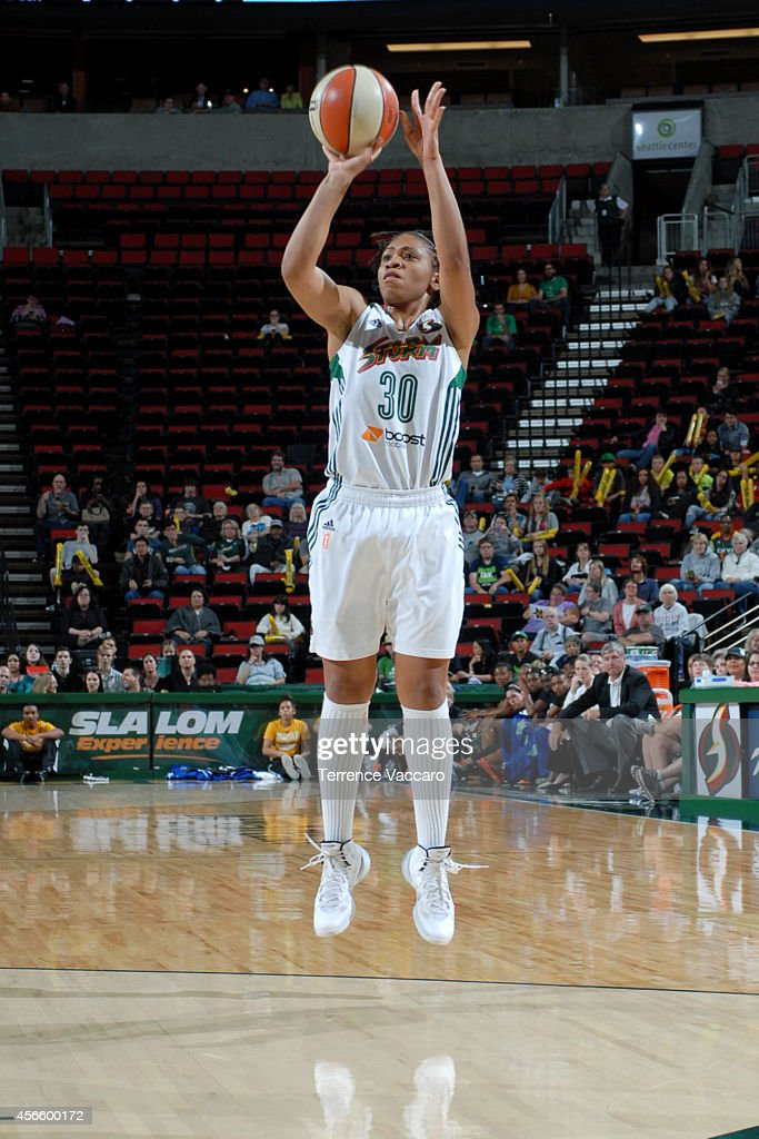 <a gi-track='captionPersonalityLinkClicked' href=/galleries/search?phrase=Tanisha+Wright&family=editorial&specificpeople=541423 ng-click='$event.stopPropagation()'>Tanisha Wright</a> #30 of the Seattle Storm shoots against the New York Liberty on July 24,2014 at Key Arena in Seattle, Washington.