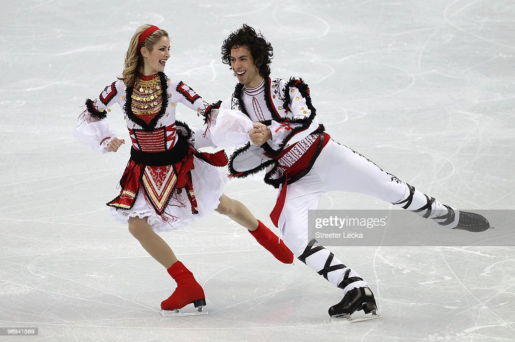 Tanith Belbin Fedor Andreev Related Keywords: Tanith Belbin & Ben Agosto Skate At The Rink In
