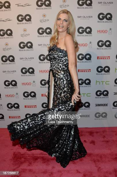 Tanja Bülter arrives at the GQ Men of the Year Award at Komische Oper on November 7 2013 in Berlin Germany