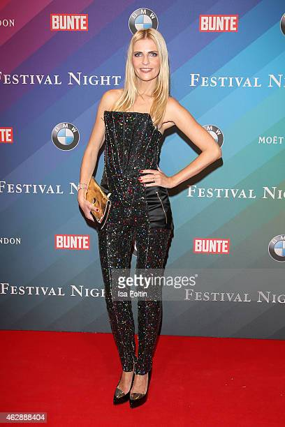 Tanja Buelter attends the Bunte BMW Festival Night 2015 on February 06 2015 in Berlin Germany