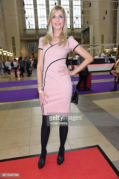 Tanja Buelter attends the COSMETICA Newcomer Artist 2016 on November 5 2016 in Berlin Germany