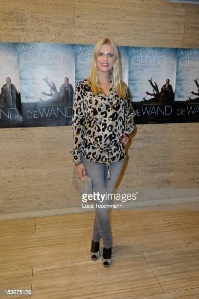 Tanja Buelter attends the 'Die Wand' Berlin preview at Astor Lounge on October 8 2012 in Berlin Germany