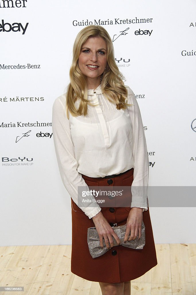 Tanja Buelter attends the Guido Maria Kretschmer For eBay Collection Launch at Label 2 on April 10, 2013 in Berlin, Germany.
