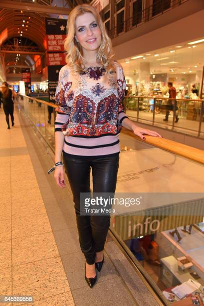 Tanja Buelter attends the late night shopping party on February 25 2017 in Hamburg Germany