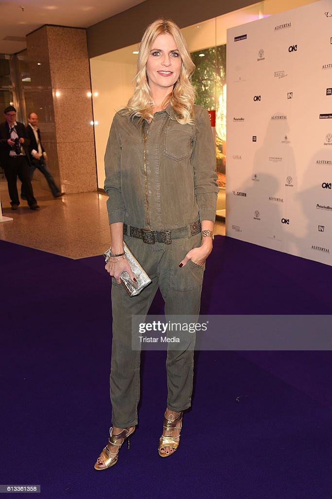Tanja Buelter attends the Late Night Shopping Party on October 7, 2016 in Hamburg, Germany.