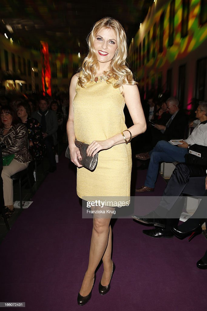 Tanja Buelter attends the Victress Day Gala 2013 at the MOA Hotel on April 8, 2013 in Berlin, Germany.