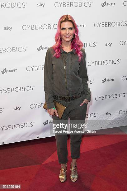 Tanja Buelter attends the 'World of Cyberobics' presentation on April 14 2016 in Berlin Germany