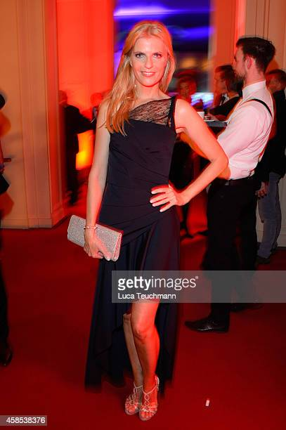 Tanja Buelter is seen at the after show party of the GQ Men Of The Year Award 2014 after show party at Komische Oper on November 6 2014 in Berlin...