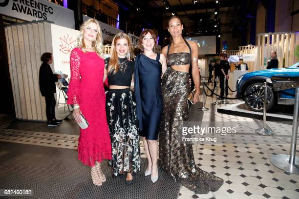 Tanja Buelter Susan Sideropoulos Maike von Bremen and Annabelle Mandeng during the GreenTec Awards at ewerk on May 12 2017 in Berlin Germany
