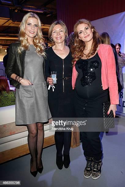 Tanja Buelter Tina IngwersenMatthiesen and Kerstin Linnartz attend the Spirit of Istanbul by Yeni Raki on March 14 2015 in Berlin Germany