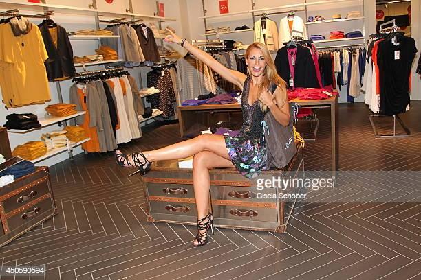 Tanja La Croix attends the Late Night Shopping at Designer Outlet Landquart on June 13 2014 in Landquart Switzerland