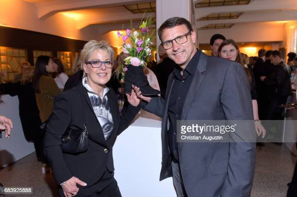 Tanja Schumann and Stefan Burmeister attend the Deichmann Shoe Step of the year award at Curio Haus on May 16 2017 in Hamburg Germany