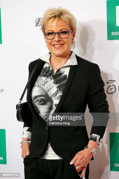 Tanja Schumann attends the Deichmann Shoe Step of the year award at Curio Haus on May 16 2017 in Hamburg Germany