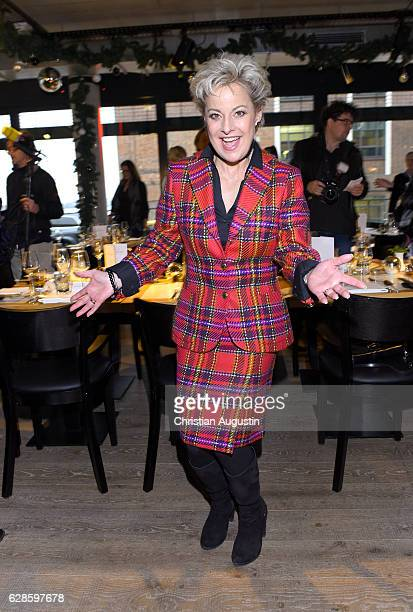 Tanja Schumann attends the DKMS Life Charity Ladies Lunch at Henssler Kueche on December 8 2016 in Hamburg Germany