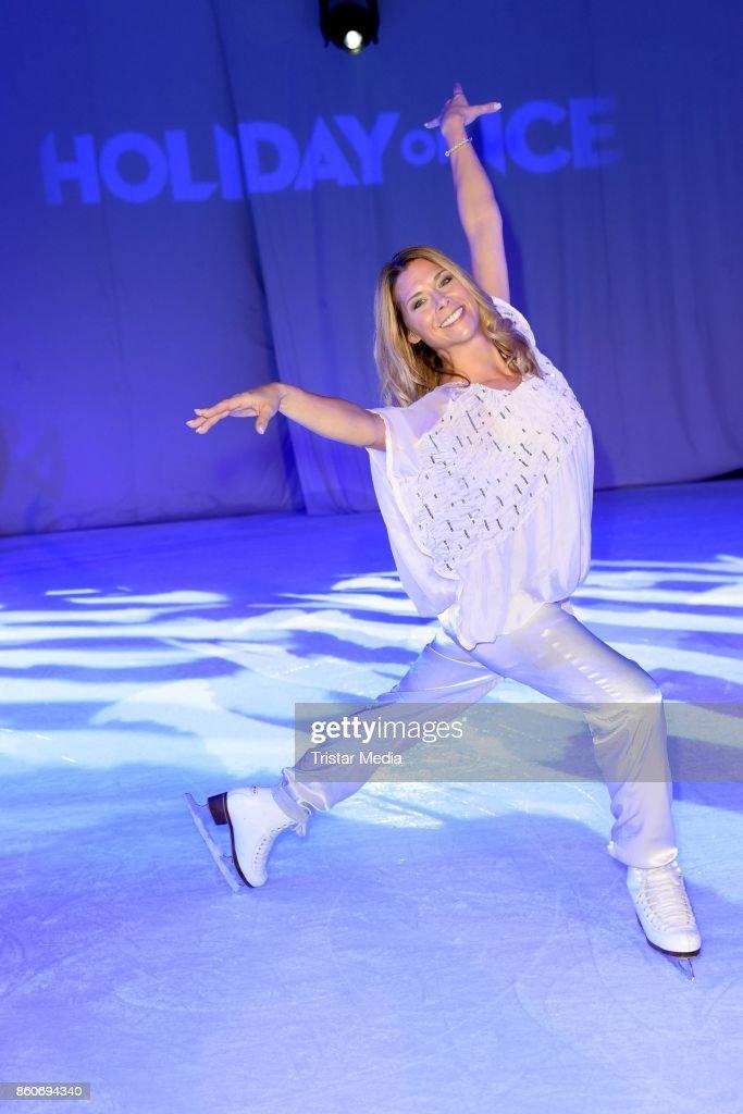 Tanja Szewczenko during the Holiday on Ice Season Opening 2017/18 at Volksbank Arena on October 12, 2017 in Hamburg, Germany.