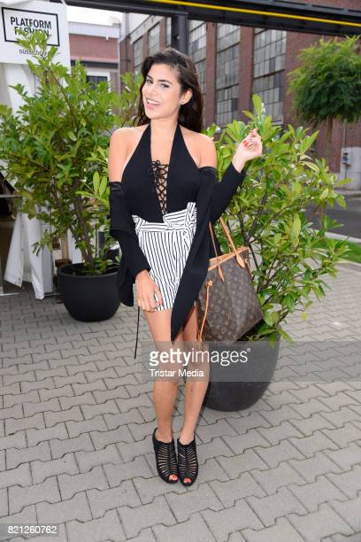 Tanja Tischewitsch attends the PF Selected show during Platform Fashion July 2017 at Areal Boehler on July 23 2017 in Duesseldorf Germany