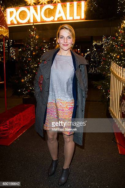 Tanja Wedhorn attends the 13th Roncalli Christmas at Tempodrom on December 17 2016 in Berlin Germany
