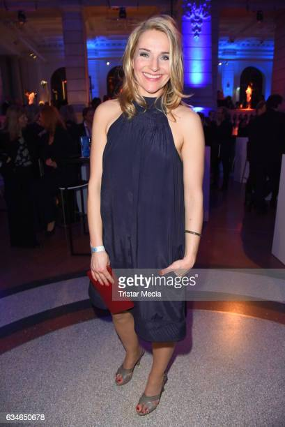 Tanja Wedhorn attends the Blue Hour Reception hosted by ARD during the 67th Berlinale International Film Festival Berlin on February 10 2017 in...