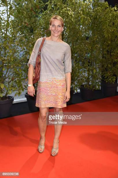 Tanja Wedhorn attends the Cocktail prolonge to the SemiFinal Round Of Judging Of The International Emmy Awards 2017 on June 12 2017 in Berlin Germany