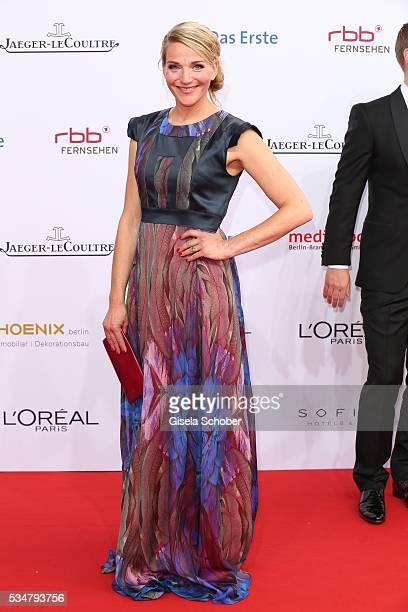 Tanja Wedhorn attends the Lola German Film Award 2016 on May 27 2016 in Berlin Germany