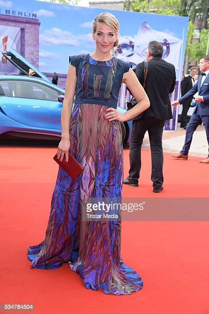 Tanja Wedhorn attends the Lola German Film Award 2016 Red Carpet Arrivals on May 27 2016 in Berlin Germany