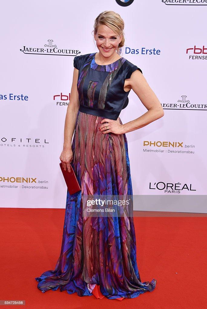 Tanja Wedhorn attends the Lola - German Film Award (Deutscher Filmpreis) on May 27, 2016 in Berlin, Germany.
