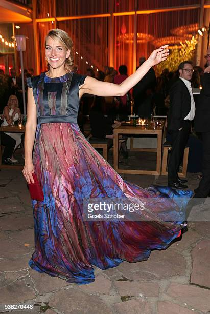 Tanja Wedhorn during the Lola German Film Award 2016 after show party at Palais am Funkturm on May 27 2016 in Berlin Germany
