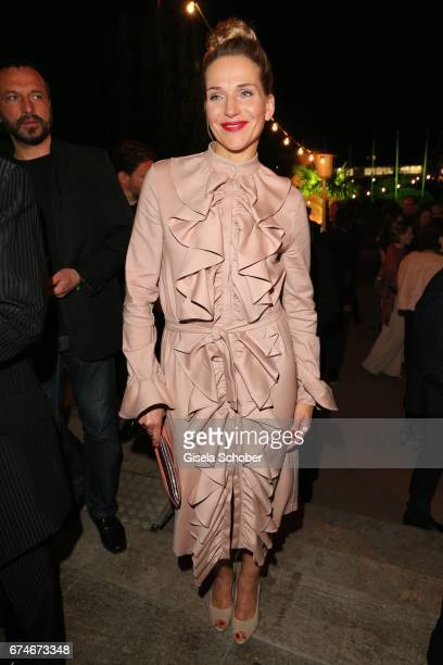 Tanja Wedhorn during the Lola German Film Award 2017 after party at Palais am Funkturm on April 28 2017 in Berlin Germany