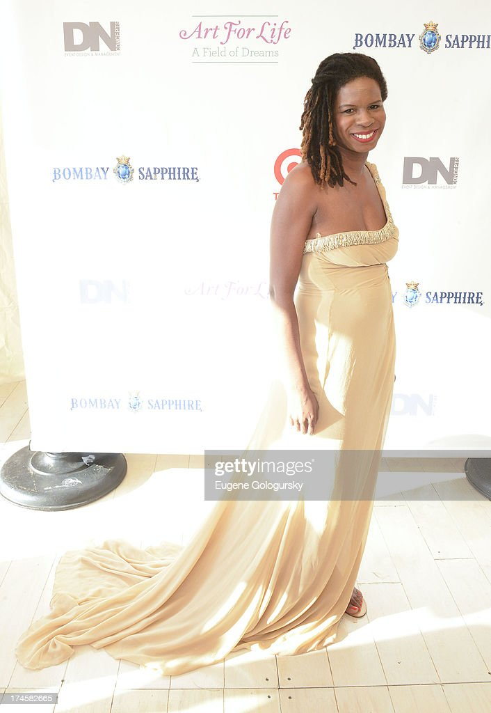 Tanje Murray attends the Russell Simmons 14th Annual Art For Life Benefit Sponsored By BOMBAY SAPPHIRE Gin at Fairview Farms on July 27, 2013 in Bridgehampton, New York.