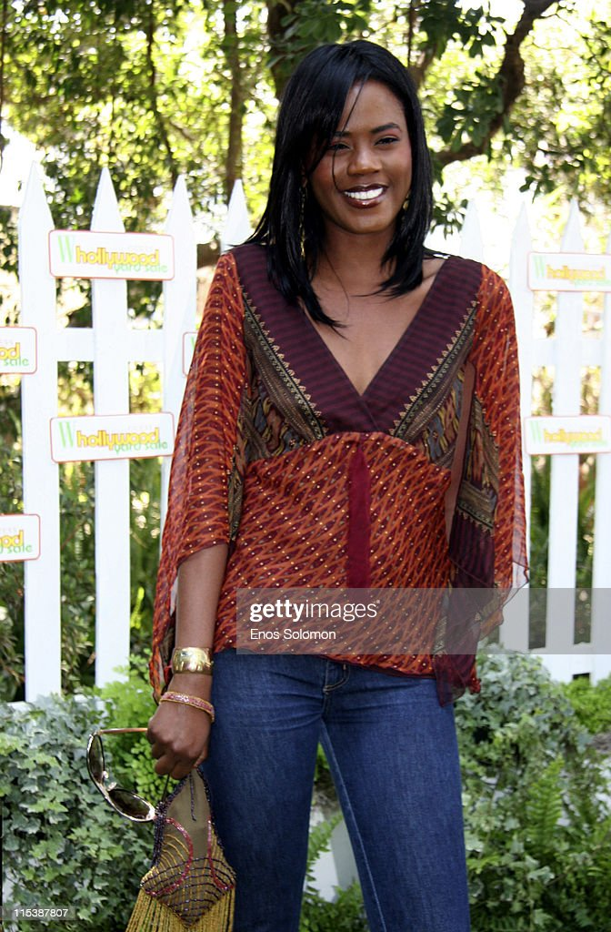 Tanji Miller during W Hollywood Yard Sale Presented by W Magazine and Guess to Benefit Clothes Off Our Back in Brentwood, California, United States.