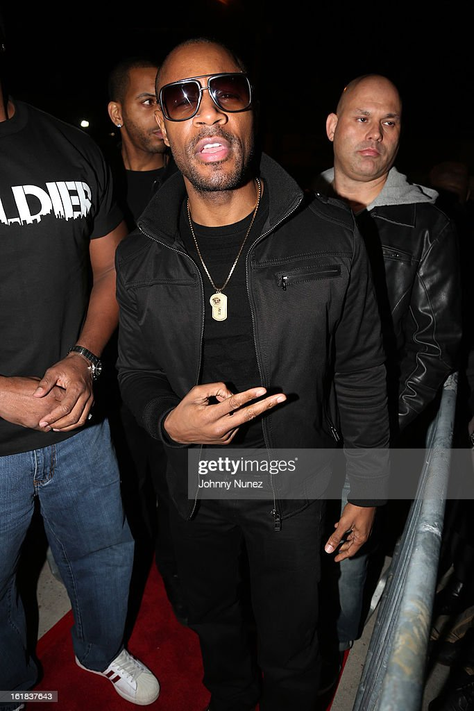 Tank attends the D'usse All-Star Weekend Party hosted By Jay-Z at Rich's on February 16, 2013, in Houston, Texas.
