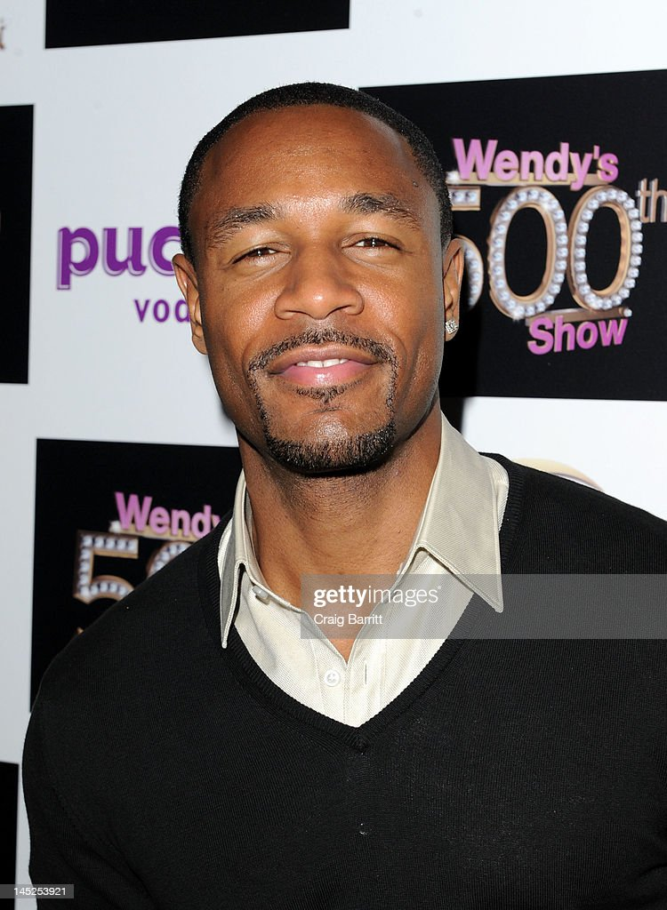 Tank attends the Wendy Williams 500th Episode Celebration at Element on May 24, 2012 in New York City.