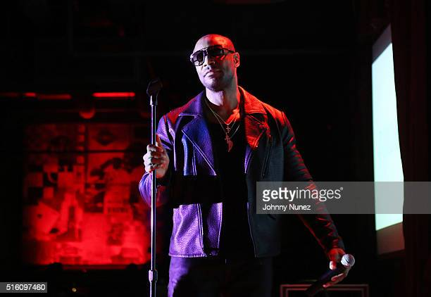 Tank performs at BB King Blues Club Grill on March 16 2016 in New York City