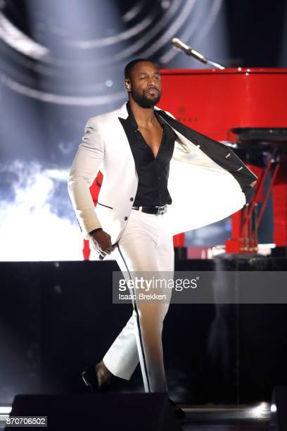 Tank performs onstage at the 2017 Soul Train Awards presented by BET at the Orleans Arena on November 5 2017 in Las Vegas Nevada