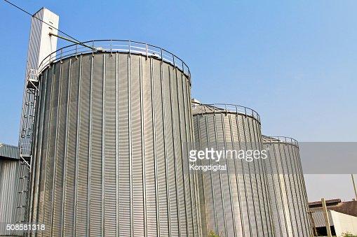 Tank storage industry big. : Stock Photo