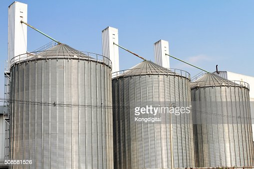 Tank storage industry big. : Stockfoto