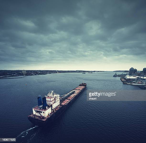 Tanker Departure