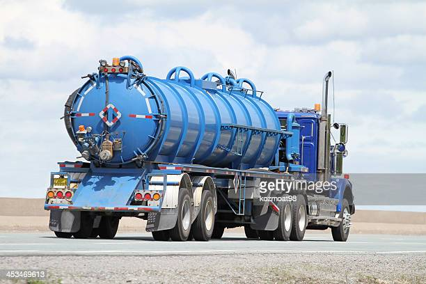 Tanker camion d'assainissement transport