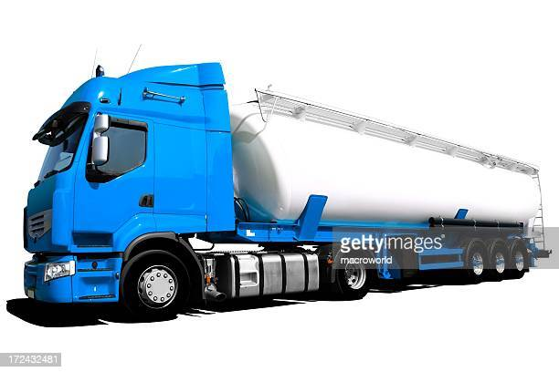 Tanker Truck Isolated