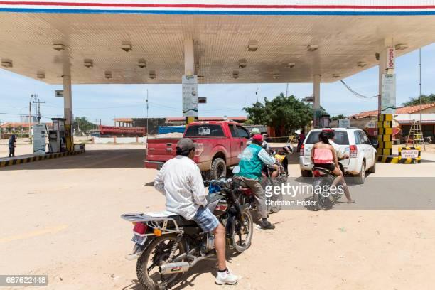 Tankstelle in Ascensión