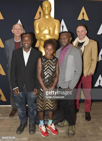 'Tanna' Director Martin Butler Lingai Kawia Selin Kawia and Director Bentley Dean attend 89th Annual Academy Awards Oscar week celebration of Foreign...
