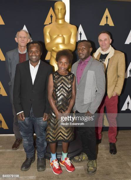 'Tanna' Director Martin Butler Lingai Kawia Selin Kawia and Director Bentley Dean attend 89th Annual Academy Awards Oscar week celebration of Foreign...