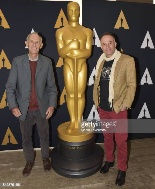 'Tanna' Directors Martin Butler and Bentley Dean attend 89th Annual Academy Awards Oscar week celebration of Foreign Language Films at Samuel Goldwyn...