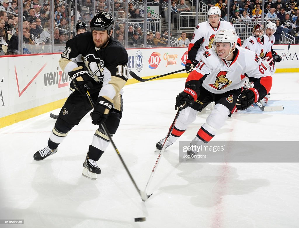Ottawa Senators v Pittsburgh Penguins