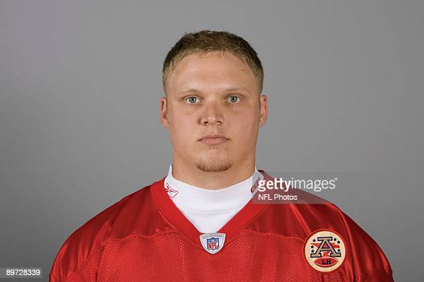 Tanner Purdum of the Kansas City Chiefs poses for his 2009 NFL headshot at photo day in Kansas City Missouri