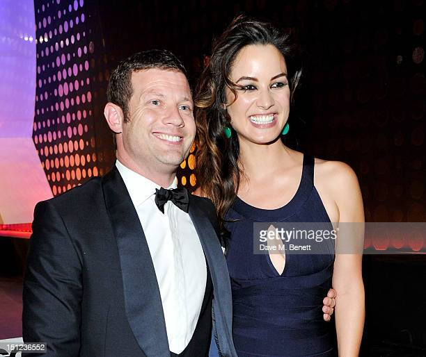 Tanqueray Most Stylish winner Dermot O'Leary and Berenice Marlohe attend the GQ Men Of The Year Awards 2012 at The Royal Opera House on September 4...