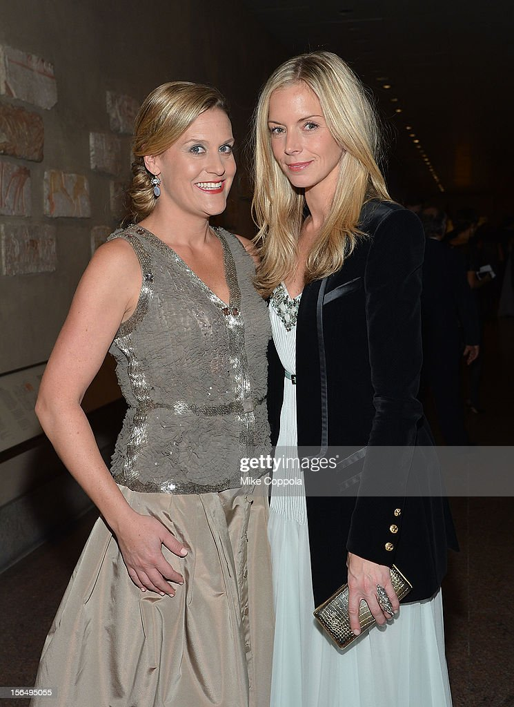 Tantivy Gubelmann (L) and Meredith Melling Burke attend the 2012 Apollo Circle Benefit at the Metropolitan Museum of Art on November 15, 2012 in New York City.